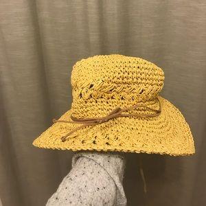b9e04a5be Free People Summerland Crochet Straw Sun Hat
